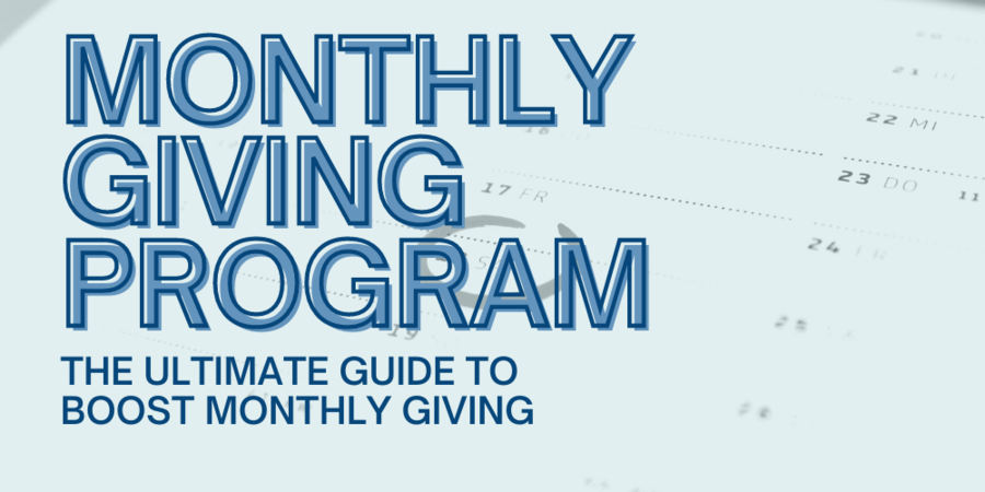 Is your monthly giving program not working? Let's fix that!