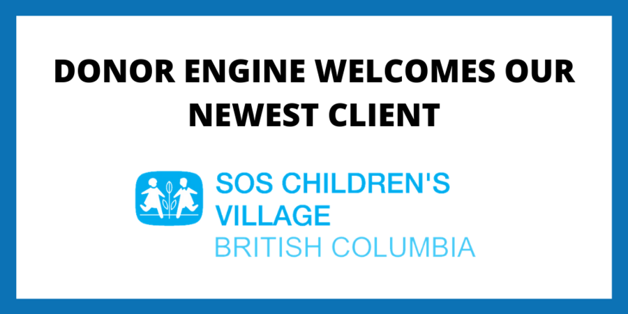 Donor Engine Welcomes a New Client: SOS Children's Village of BC