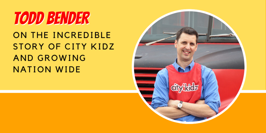 City Kidz Founder Todd Bender on Finding Success and Growing Across Canada