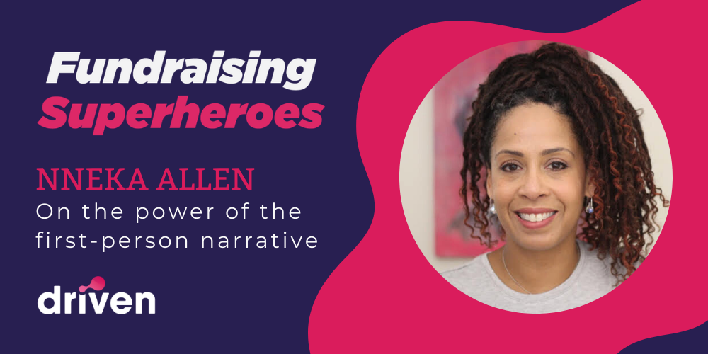 Nneka Allen Fundraising Superheroes