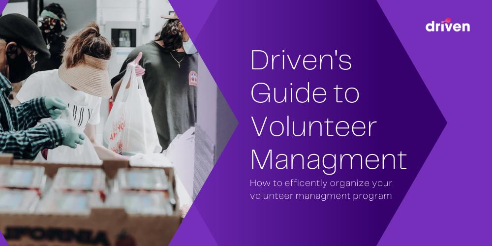 volunteer managment driven