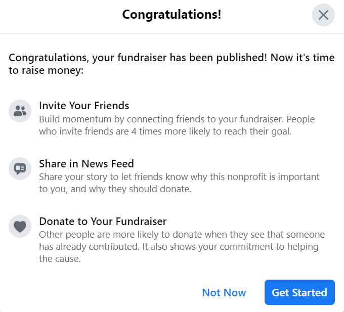 facebook fundraiser 4
