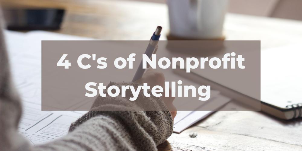 4 c nonprofit storytelling