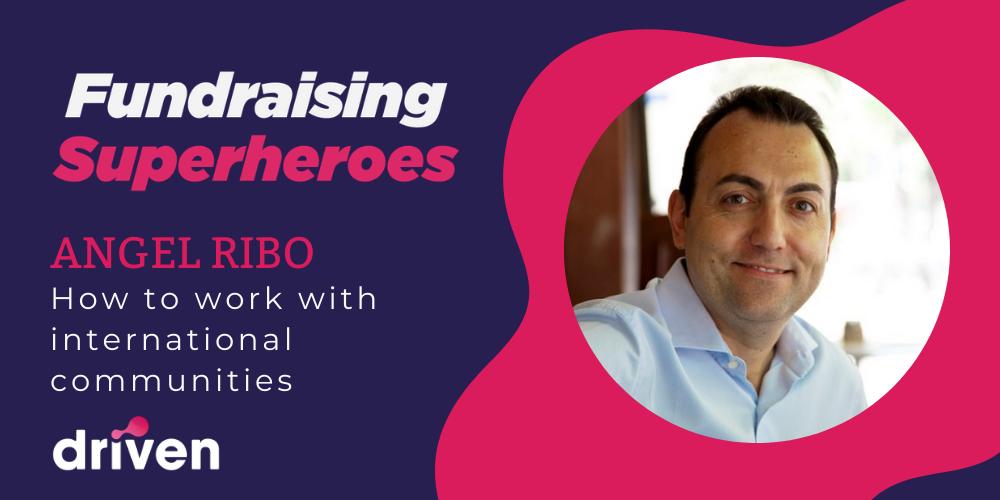 Angel Ribo Fundraising Superheroes